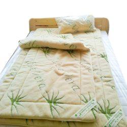Sleepy - Luxus Aloe Vera Bárány gyapjú garnitúra  520gr/m2