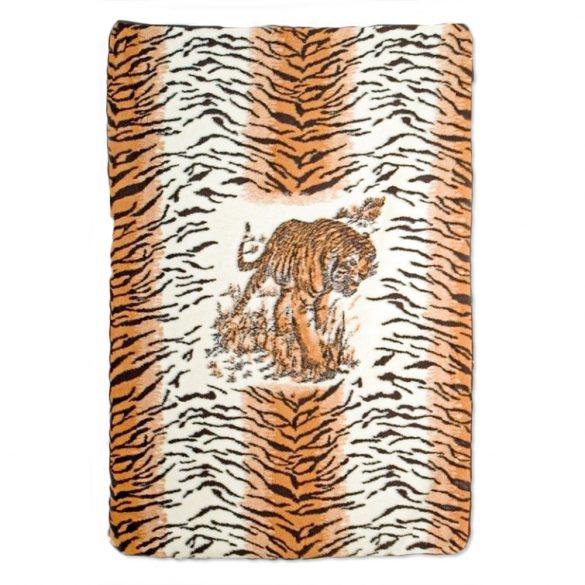 Tigrises bárány gyapjú takaró