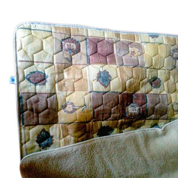Ortho-Sleepy gyapjú/vászon takaró barna színben 520 g/m²