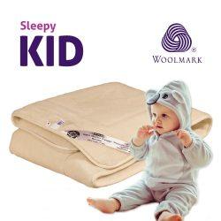 Sleepy-Kids Kasmír Gyermek Gyapjú Derékalj 650Gr/M2