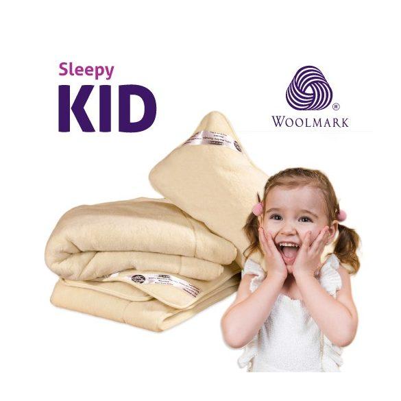 Sleepy-Kids gyermek kasmír garnitúra 100% gyapjú