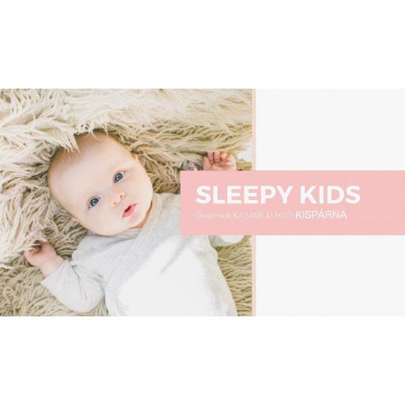 Sleepy-Kids gyermek kasmír párna 100% gyapjú 650 g/m² 40x50 cm