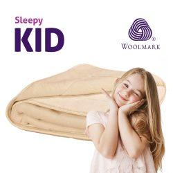 Sleepy-KIDS  KASMÍR GYERMEK gyapjú TAKARÓ 650gr/m2