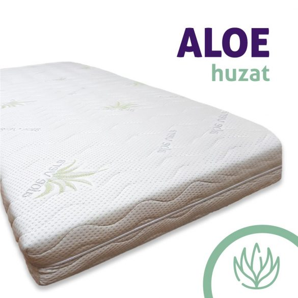 Ortho-Sleepy Luxus Plusz Memory Matrac Aloe Vera Huzatban / 90x200cm