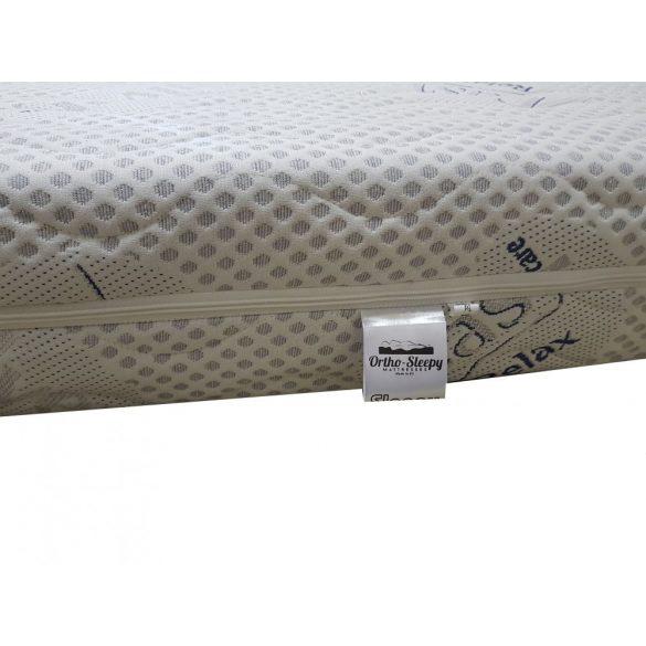 Ortho-Sleepy Luxus Plusz Memory Matrac Silver Protect Huzatban / 200x200cm