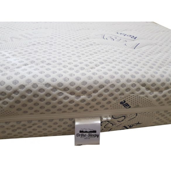 Sleepy-Memory High Luxus Plus Silver Memory Foam Ortopéd Vákuum Matrac / 200x200cm