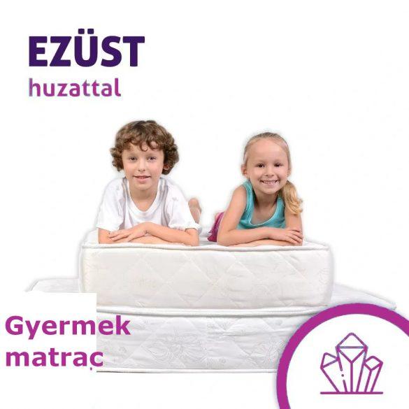 Sleepy - Kids Hypoallergén Matrac Silver Protect Huzatban - 14Cm / 80x180cm