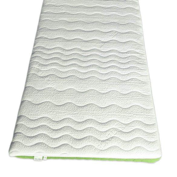Ortho-Sleepy Relax 20 cm magas habrugós +7 Zónás ortopéd matrac zöld színben
