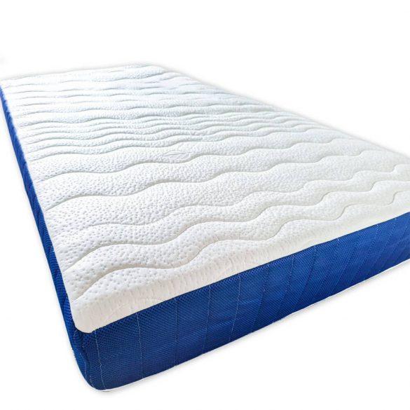 Ortho-Sleepy Relax 20 cm magas habrugós +7 Zónás ortopéd matrac kék színben