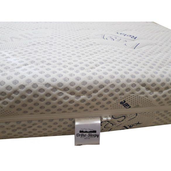 Ortho-Sleepy Strong Luxus Plus 24 cm magas ortopéd vákuum matrac Silver Protect huzattal