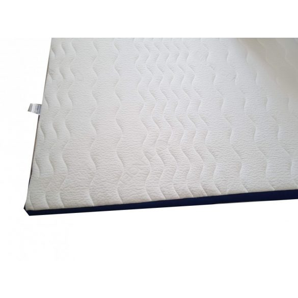 Fedőmatrac-Topper Blue-White / 90x200cm