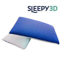 Sleepy 3D Memory párna - KÉK