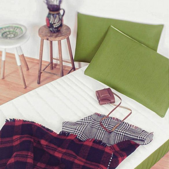 Sleepy 3D Memory Párna - Zöld