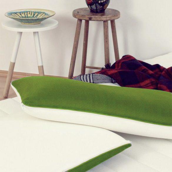 Sleepy 3D Memory párna zöld huzattal