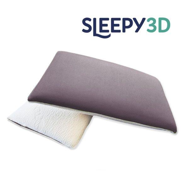 Sleepy 3D Memory párna szürke huzattal