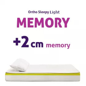 MEMORY MATRACOK - 2CM MEMORY RÉTEGGEL