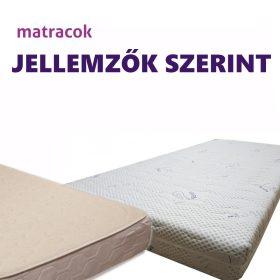 Matracok jellemzők szerint