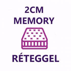 2 cm memory réteg