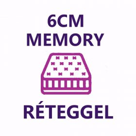 6 cm memory réteg
