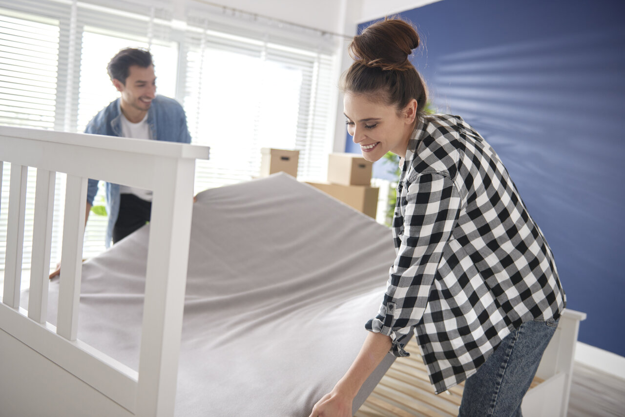 vákuum matrac kicsomagolás