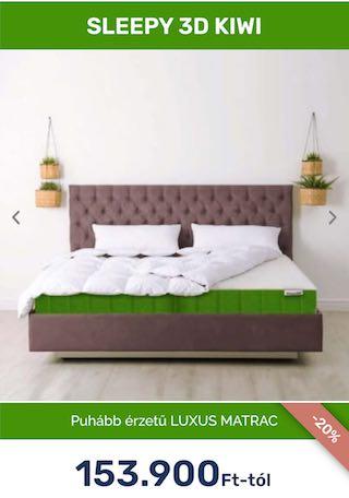 Sleepy 3D Kiwi latexgél matrac